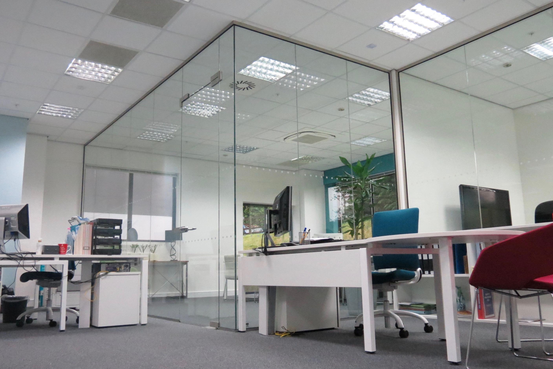 Nash Glass Single Glazed Frameless over panel