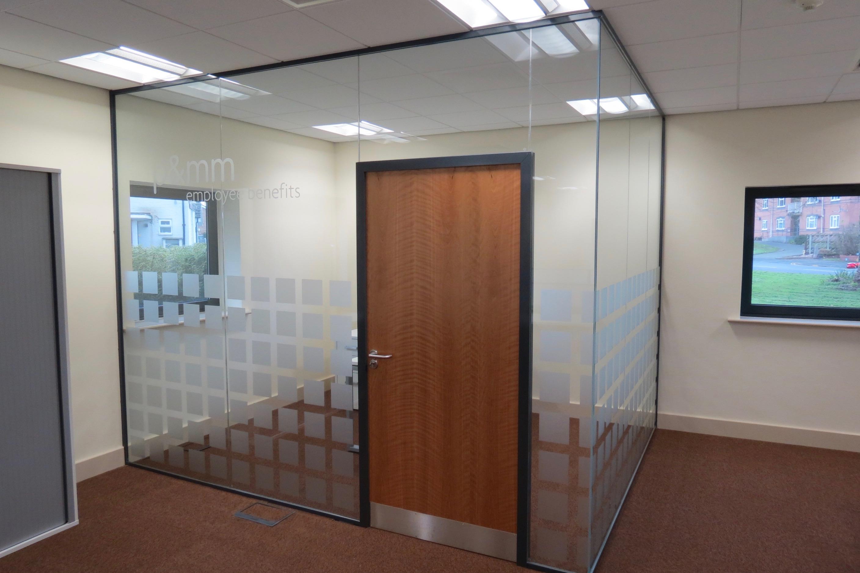 Nash Glass framed timber door